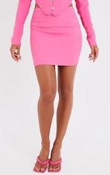 Bright Pink Mini Skirt 2