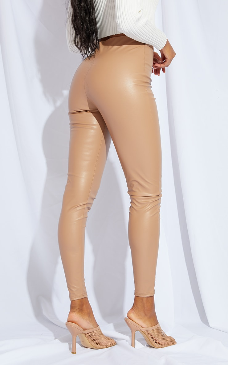 Stone Faux Leather Legging 3