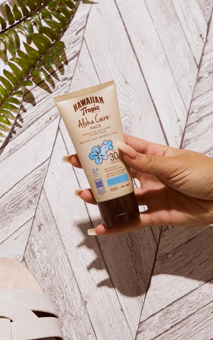 Hawaiian Tropic Aloha Care Protective Face Lotion SPF30 90ml 1