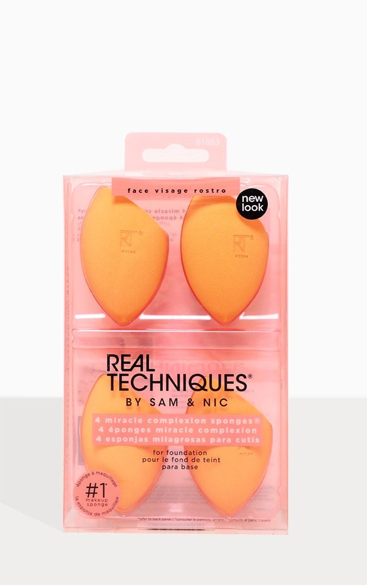 Real Techniques 4 Pack Miracle Complexion Sponge 1