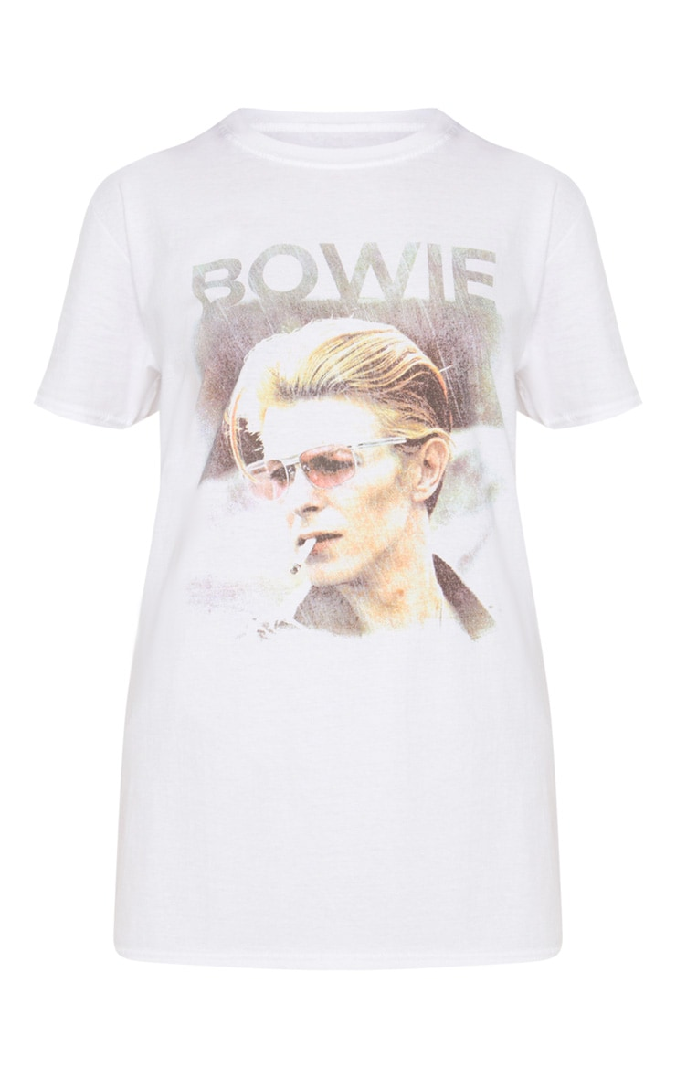 White Bowie T Shirt 2