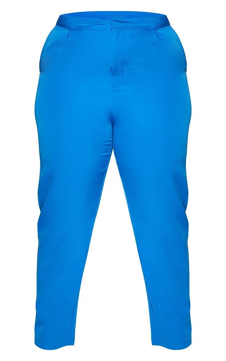 Plus Blue Cropped Pants 5