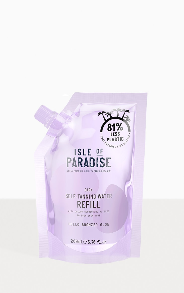 Isle of Paradise Refill Your Water Dark 1