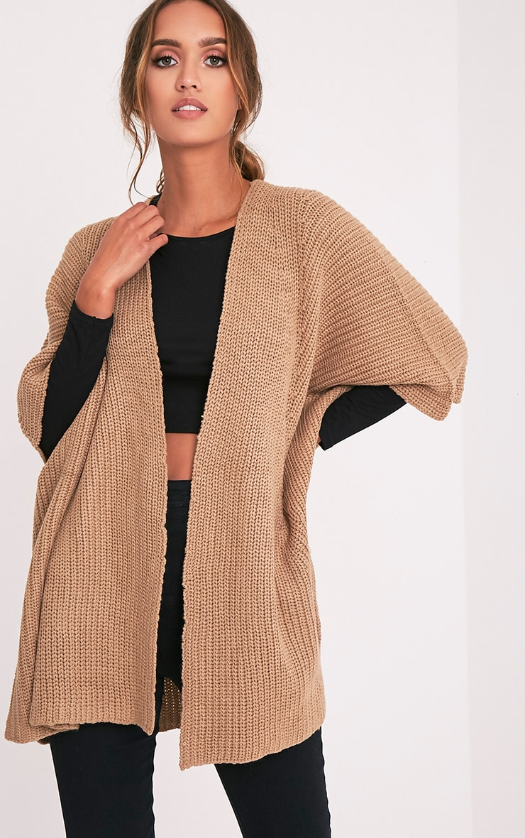 Lexie Tan Poncho Cardigan 1