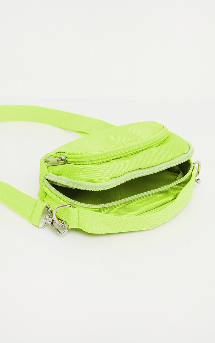 Lime Nylon Mini Bag 4