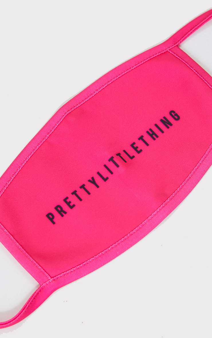 PRETTYLITTLETHING Hot Pink Fashion Mask 2