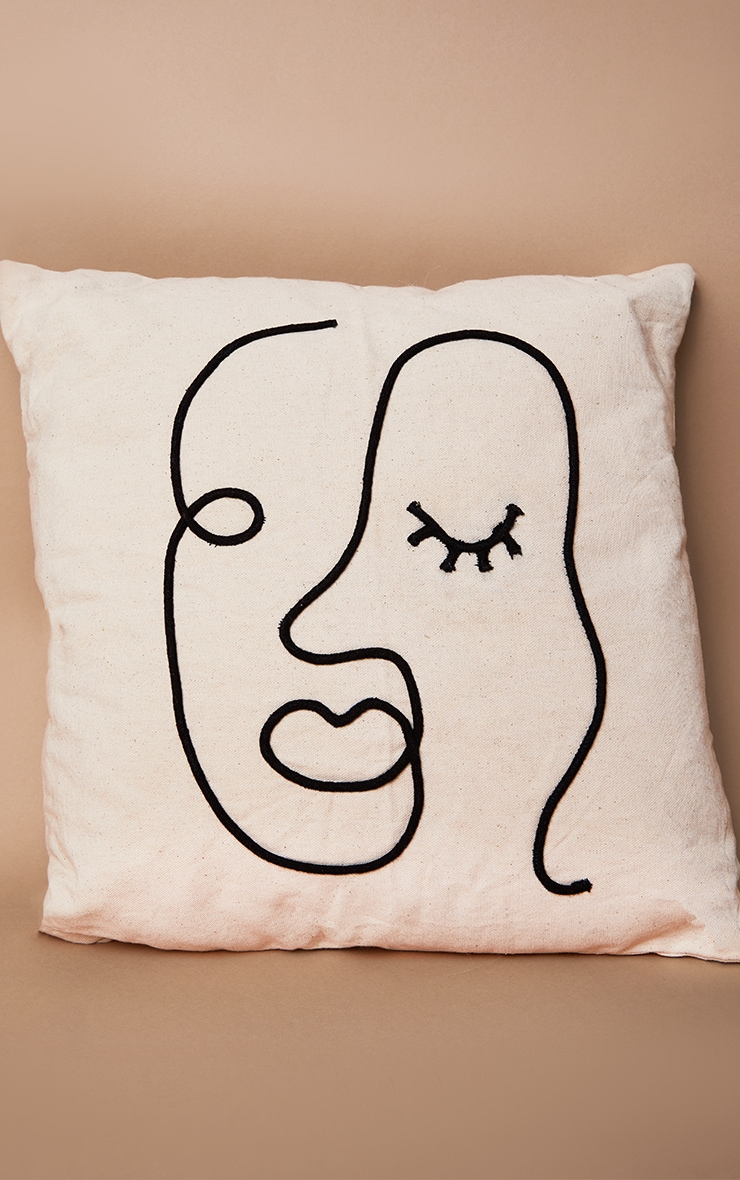 Abstract Face Cushion 3