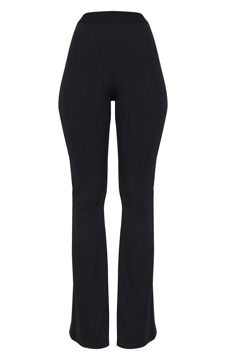 Black Bandage Flared Pants 3