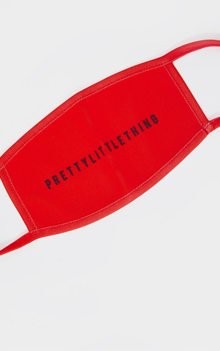 PRETTYLITTLETHING Red Fashion Mask 2