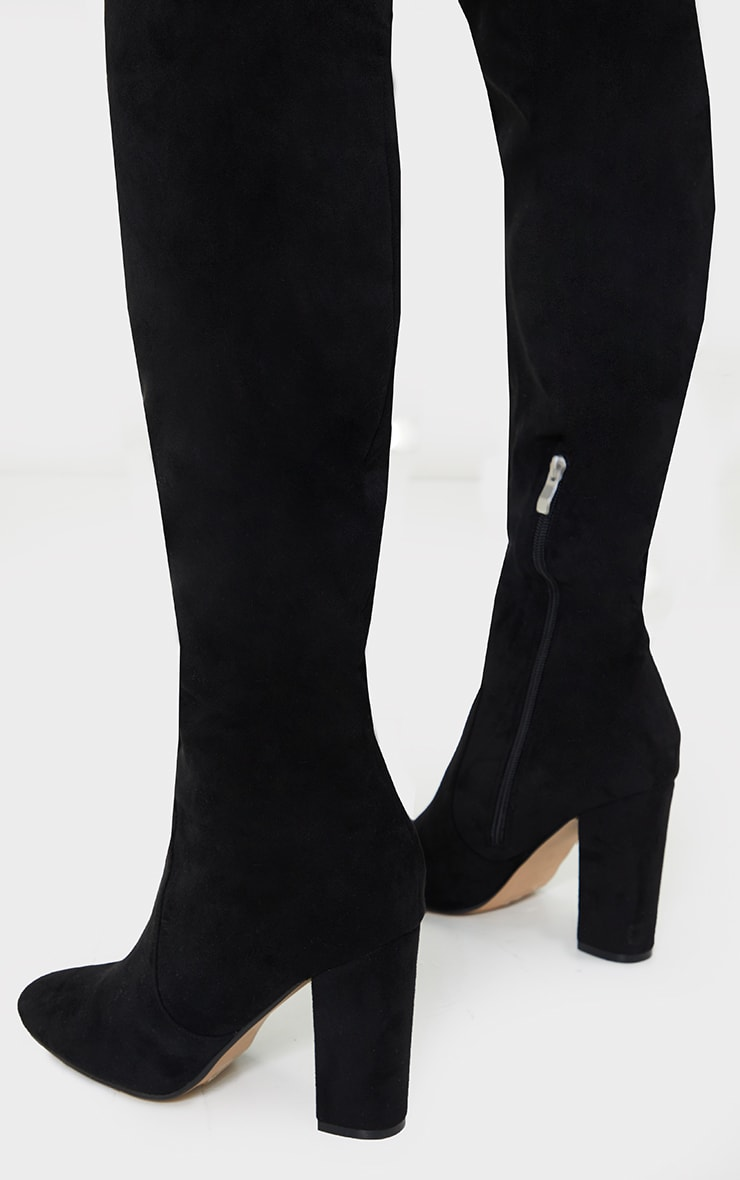 Black Over The Knee Behati Boot 4