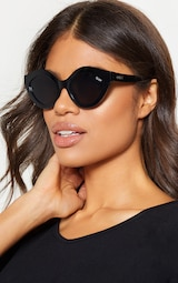 e3a6cdc58a QUAY AUSTRALIA Black Goodnight Kiss Sunglasses image 1