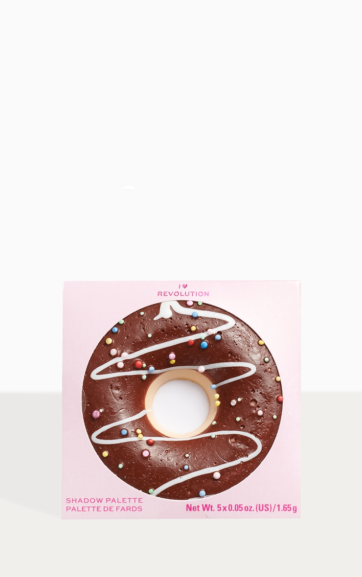 I Heart Revolution Donuts Chocolate Dipped Eyeshadow Palette 3