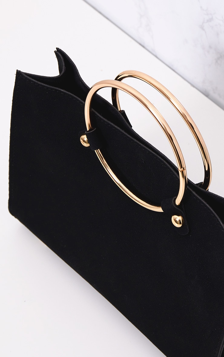 Black Ring Handbag 3