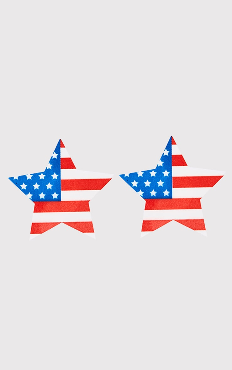 American Flag Nipple Covers 3