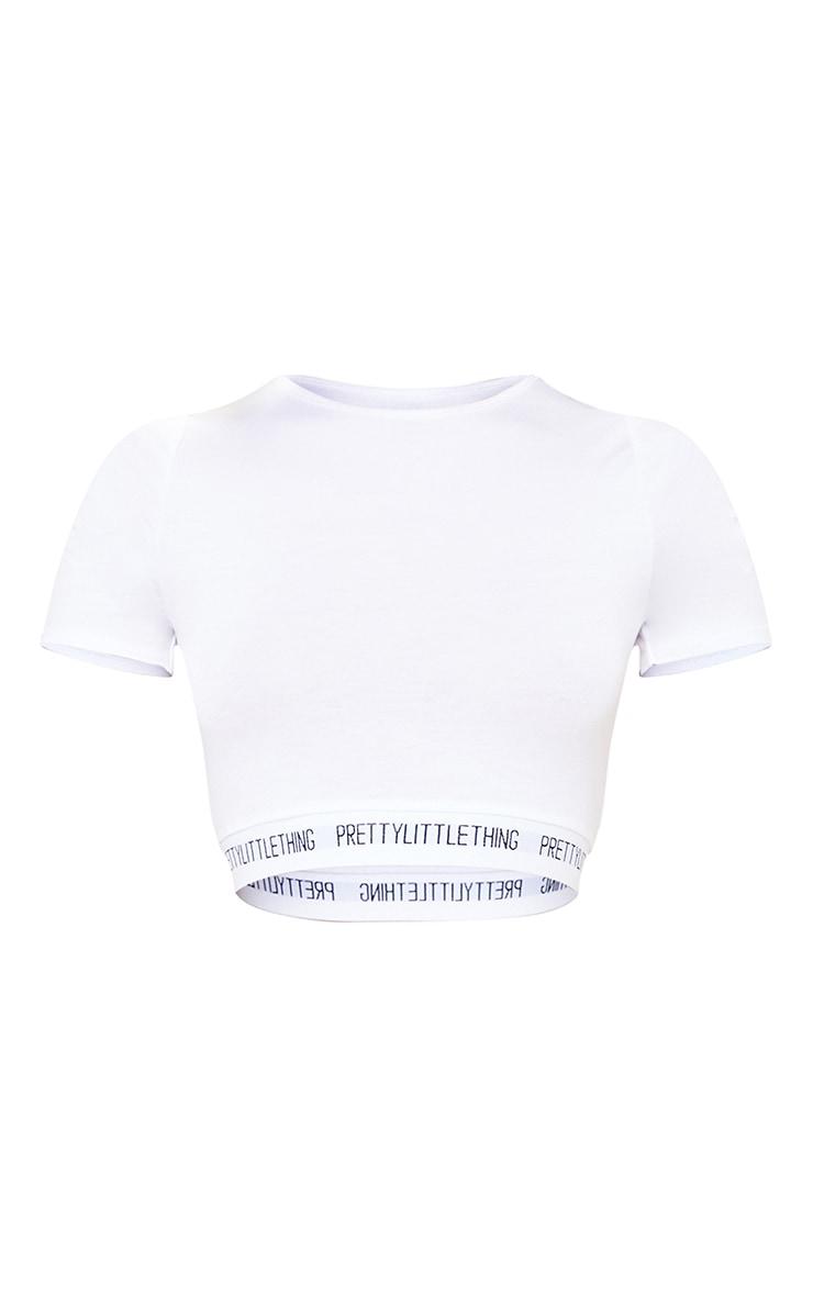 PRETTYLITTLETHING Ditsy Heart Print Trouser PJ Set 5