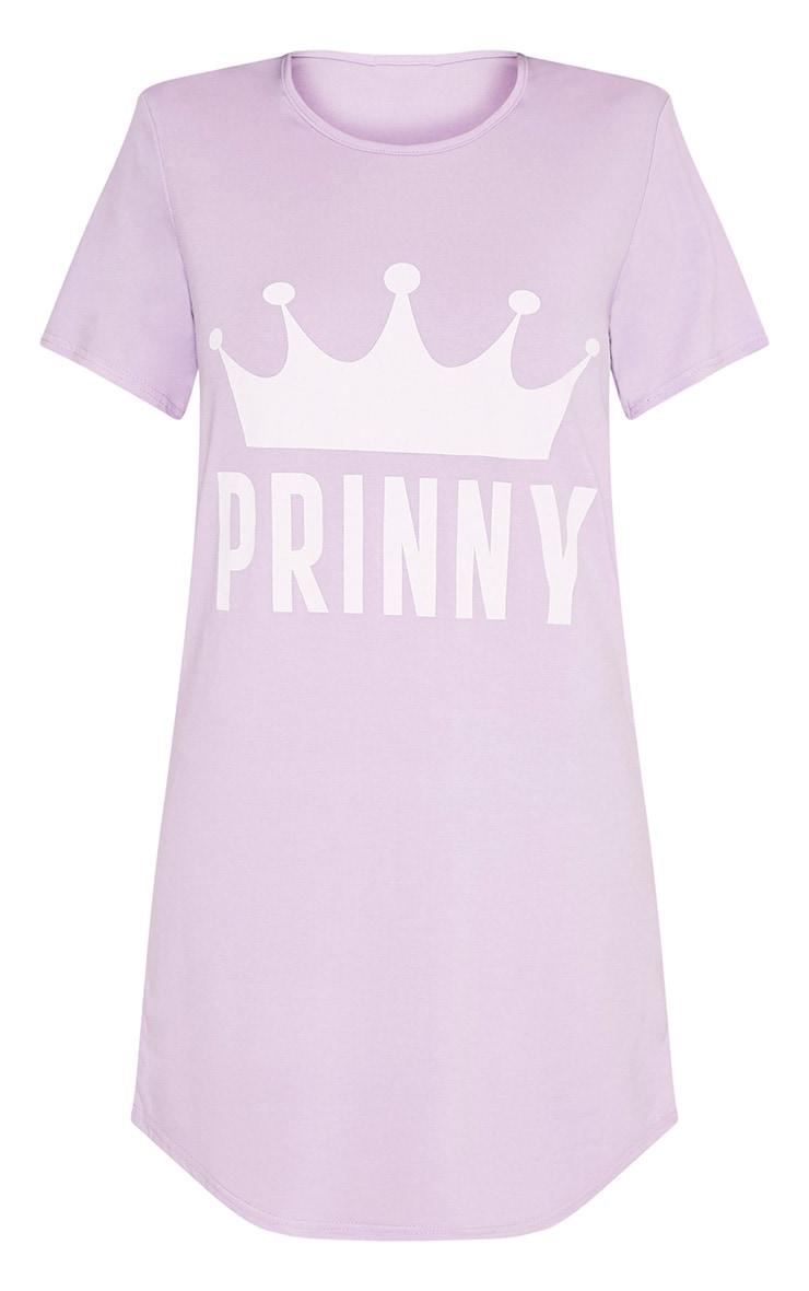 Prinny Lilac Oversized Nightie 6