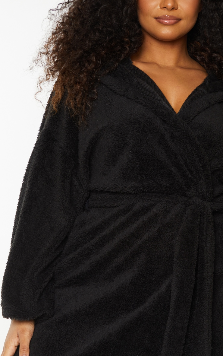 Plus Black Borg Dressing Gown 4