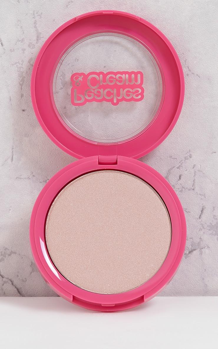 Poudre illuminatrice Halo Peaches & Cream 2