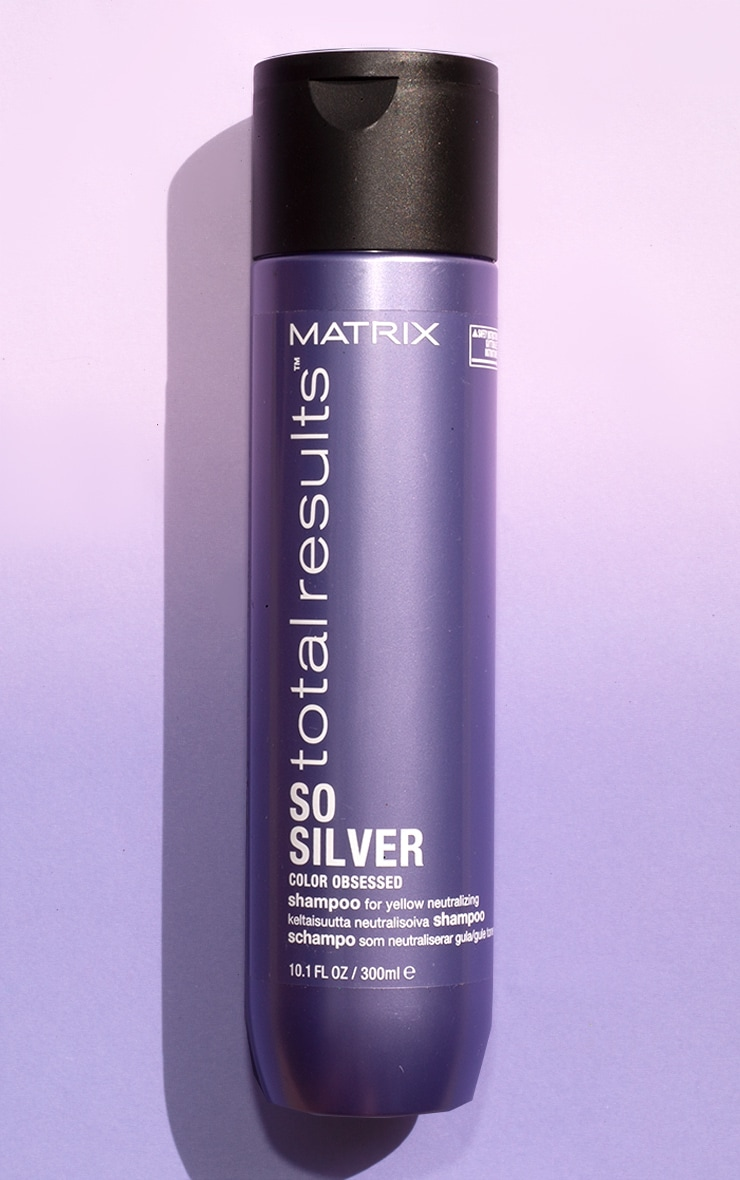 Matrix Total Results Color Obsessed So Silver Shampoo Blonde Hair 300ml 1