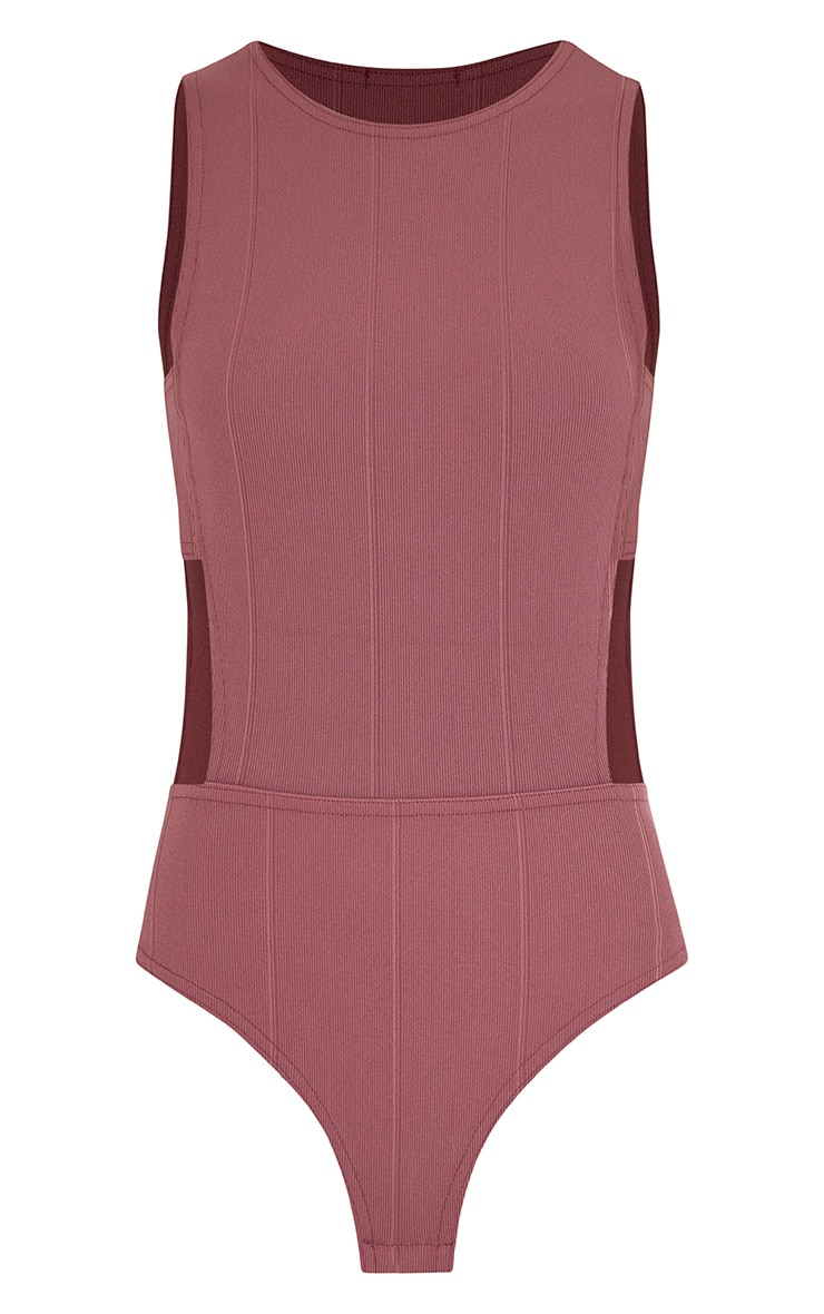 Aphra Rose Bandage Tab Side Thong Bodysuit 2