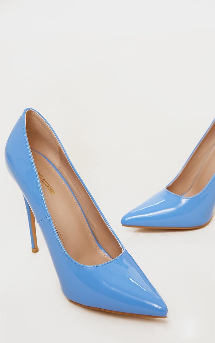 Baby Blue Court Shoe 4