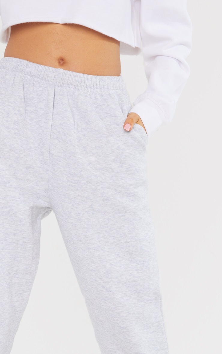Petite Grey Ultimate Marl Sweat Joggers 4