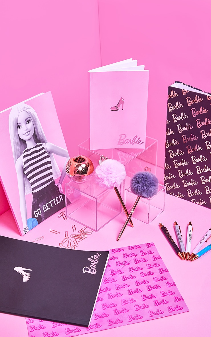 Barbie Rose Gold Pom Pom Pen 3