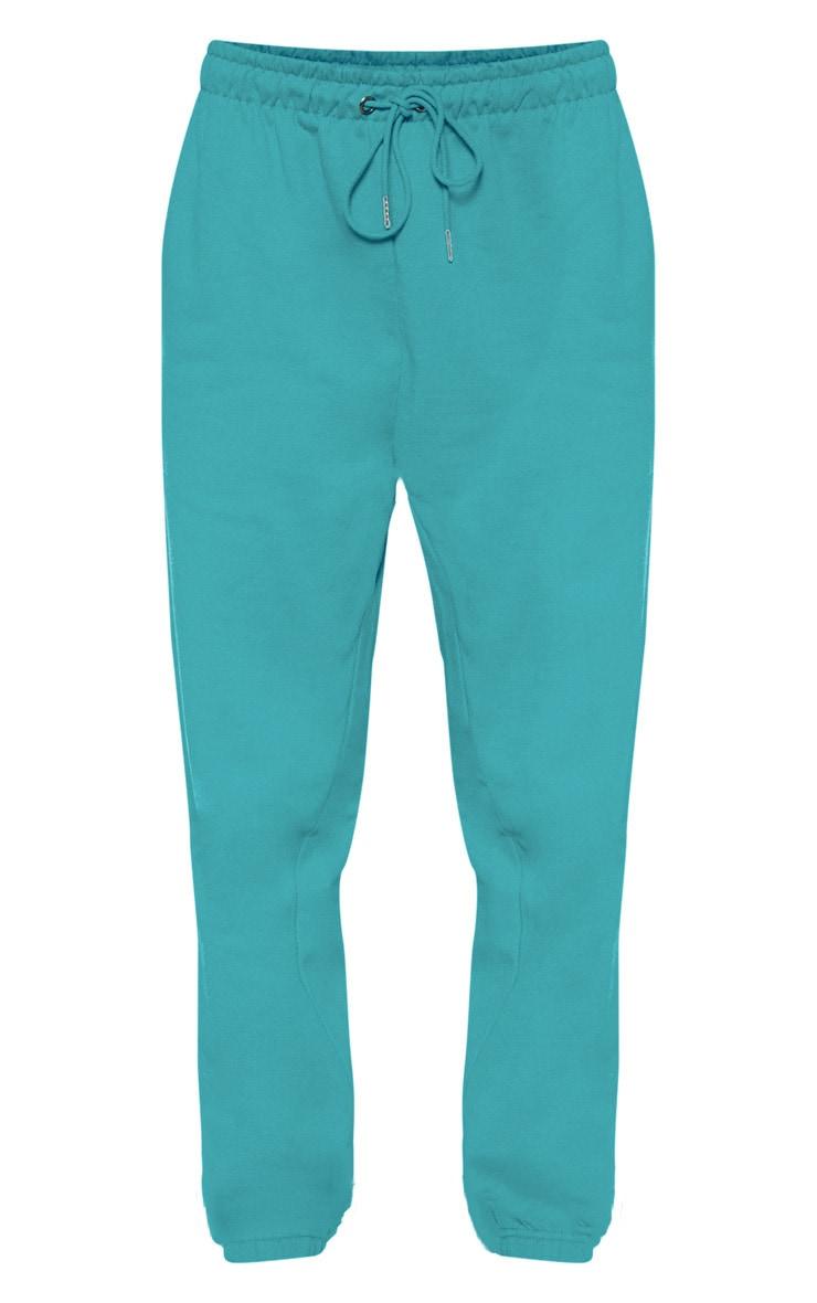 Jogging bleu sarcelle à bande contrastante PRETTYLITTLETHING 3