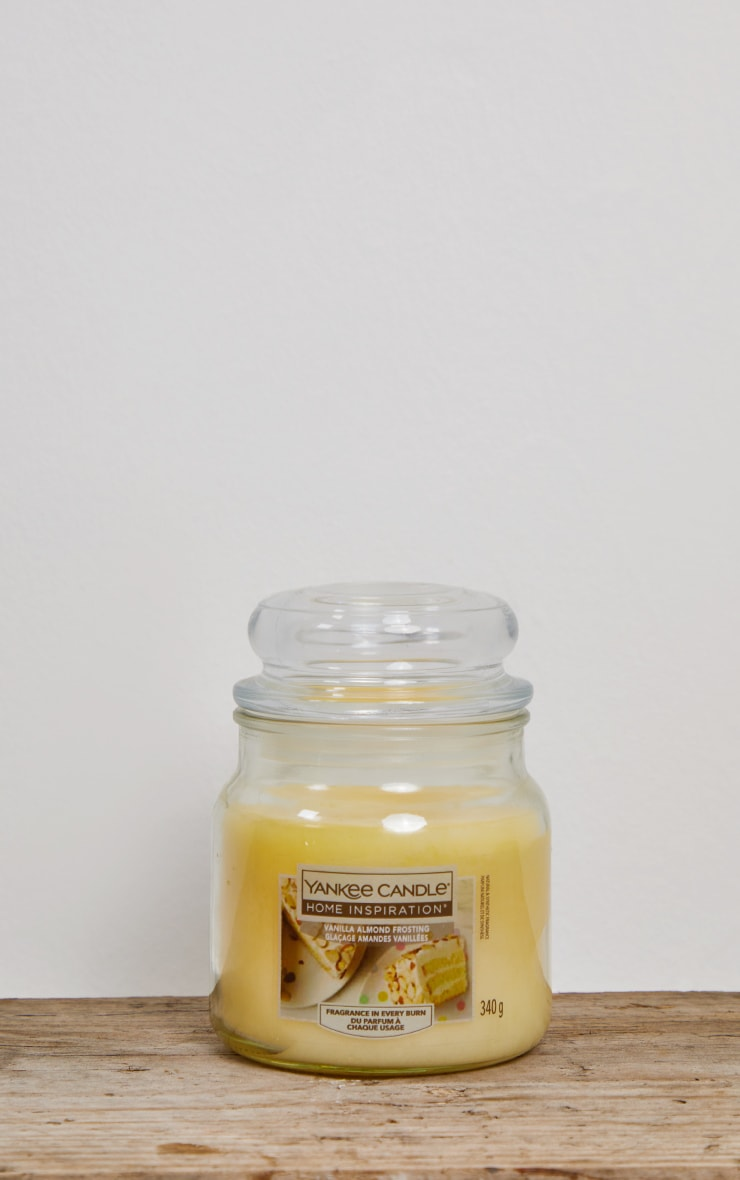 Yankee Candle Home Inspiration Medium Jar Vanilla Almond Frosting 3