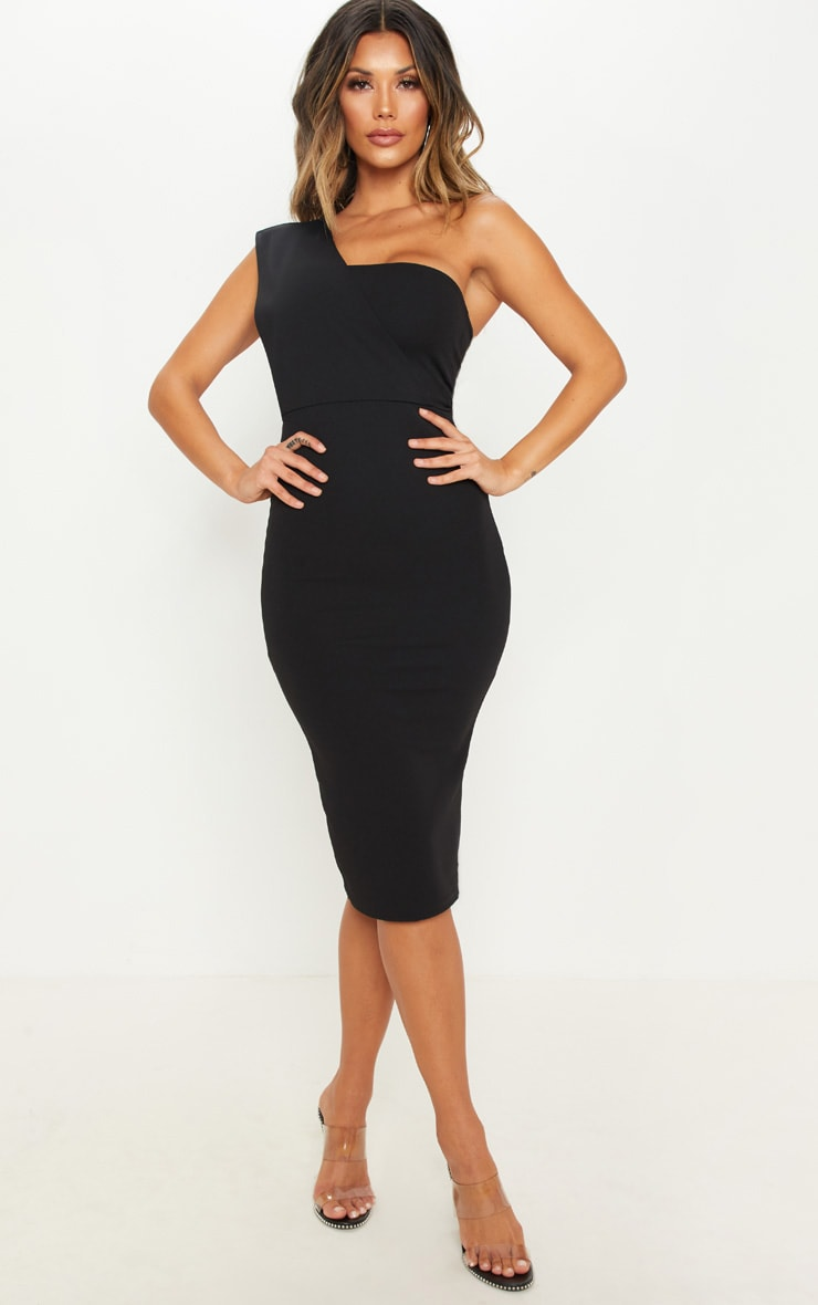 Black One Shoulder Cocktail Dresses