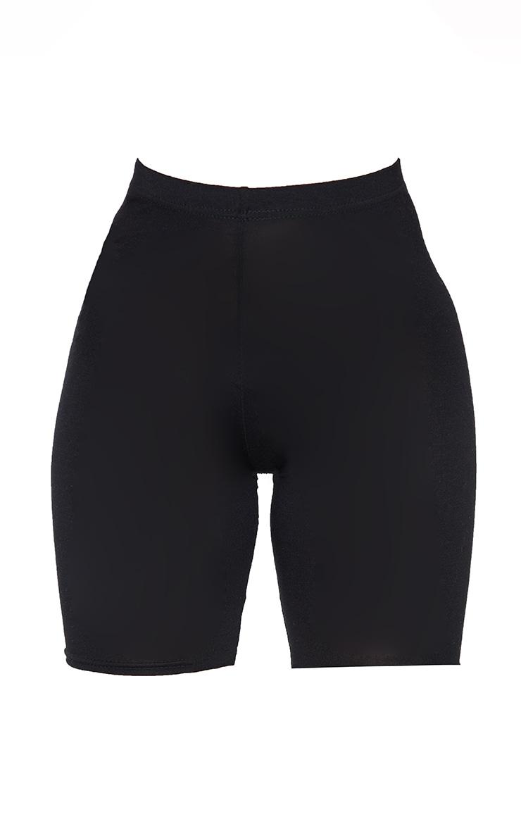 Petite Black Basic Bike Shorts 6