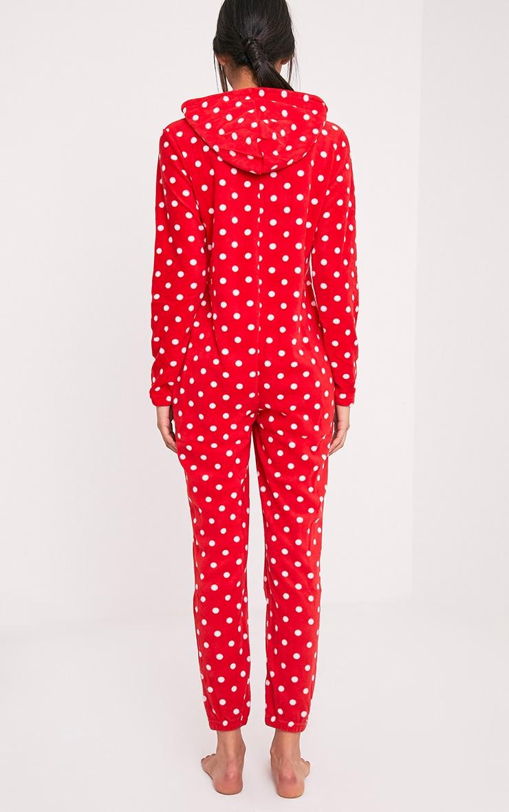 Red Polka Dot Onesie 2