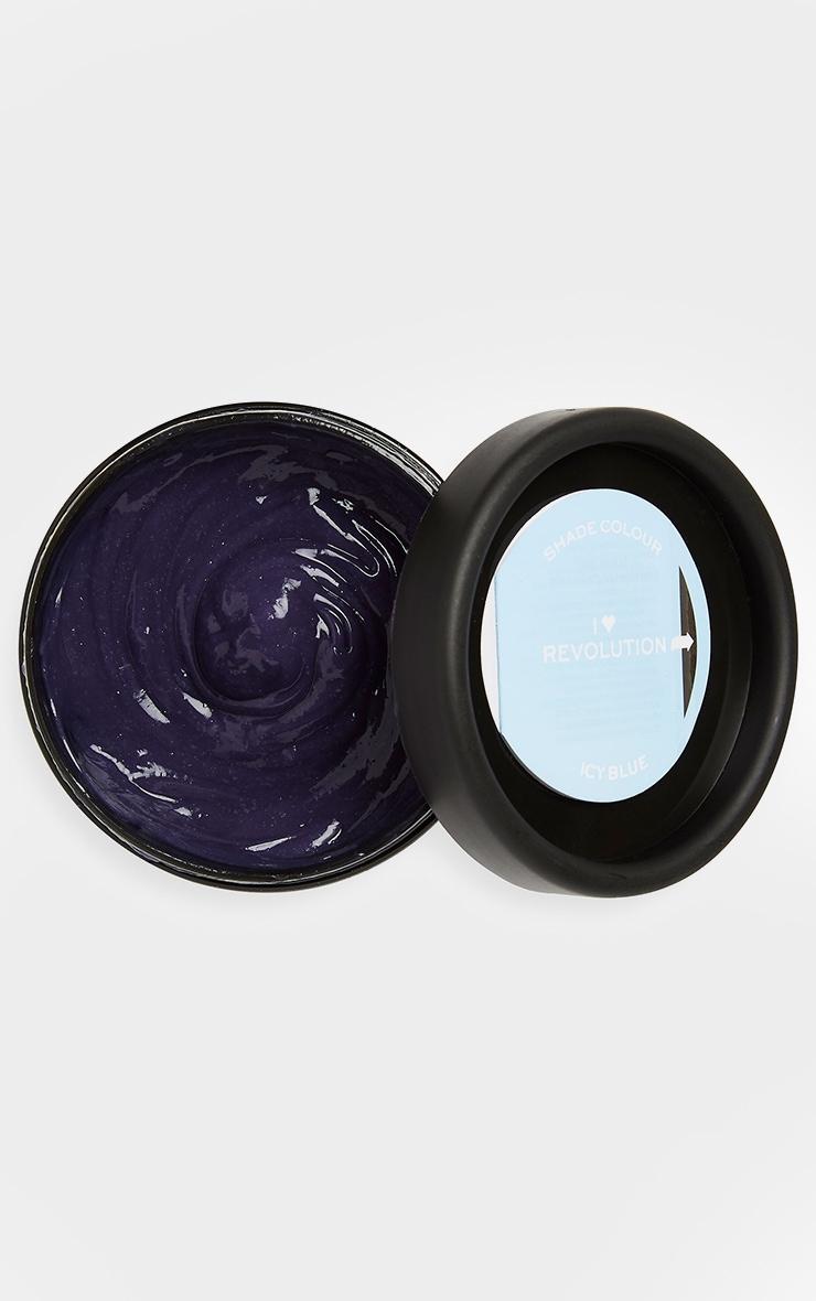 I Heart Revolution Rainbow Hair Colour Tones Icy Blue 2