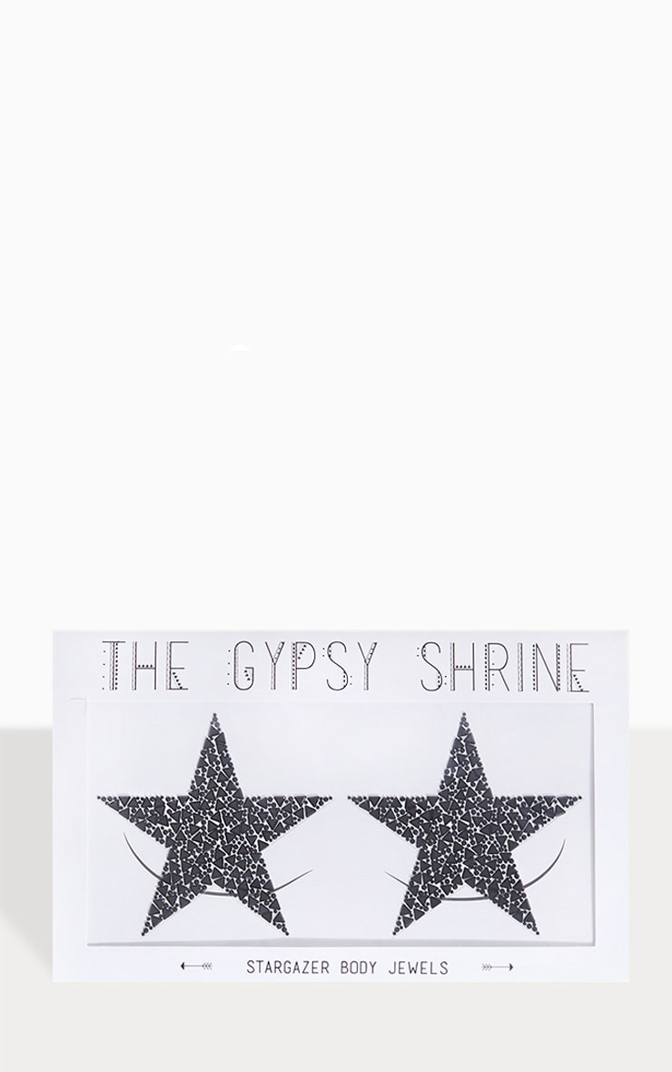 Bijoux de corps The Gypsy Shrine X Easy Tiger - Stargazer Black Body Jewels