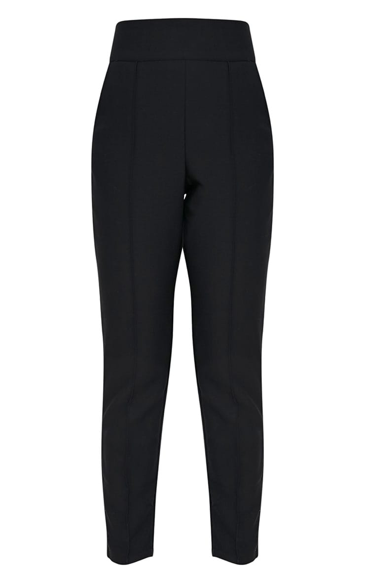 Wendy Black Front Seam Trousers 4