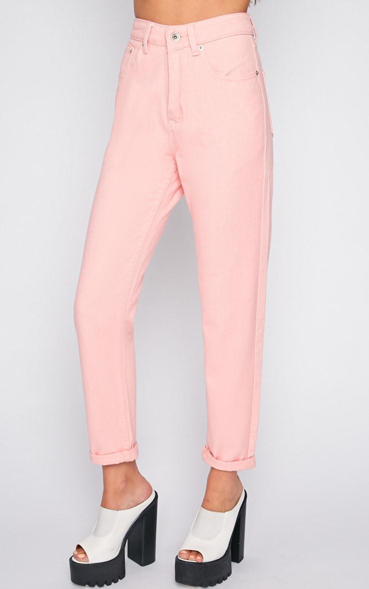 Charlie Pink Mom Jeans 5
