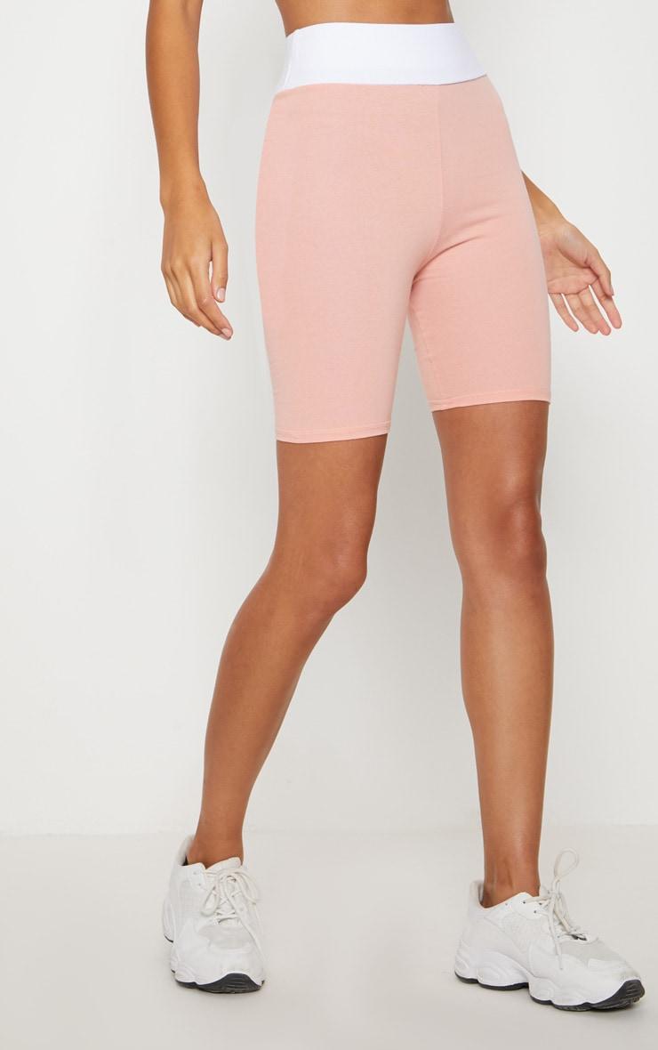 Pink Cotton Cycling Shorts 2