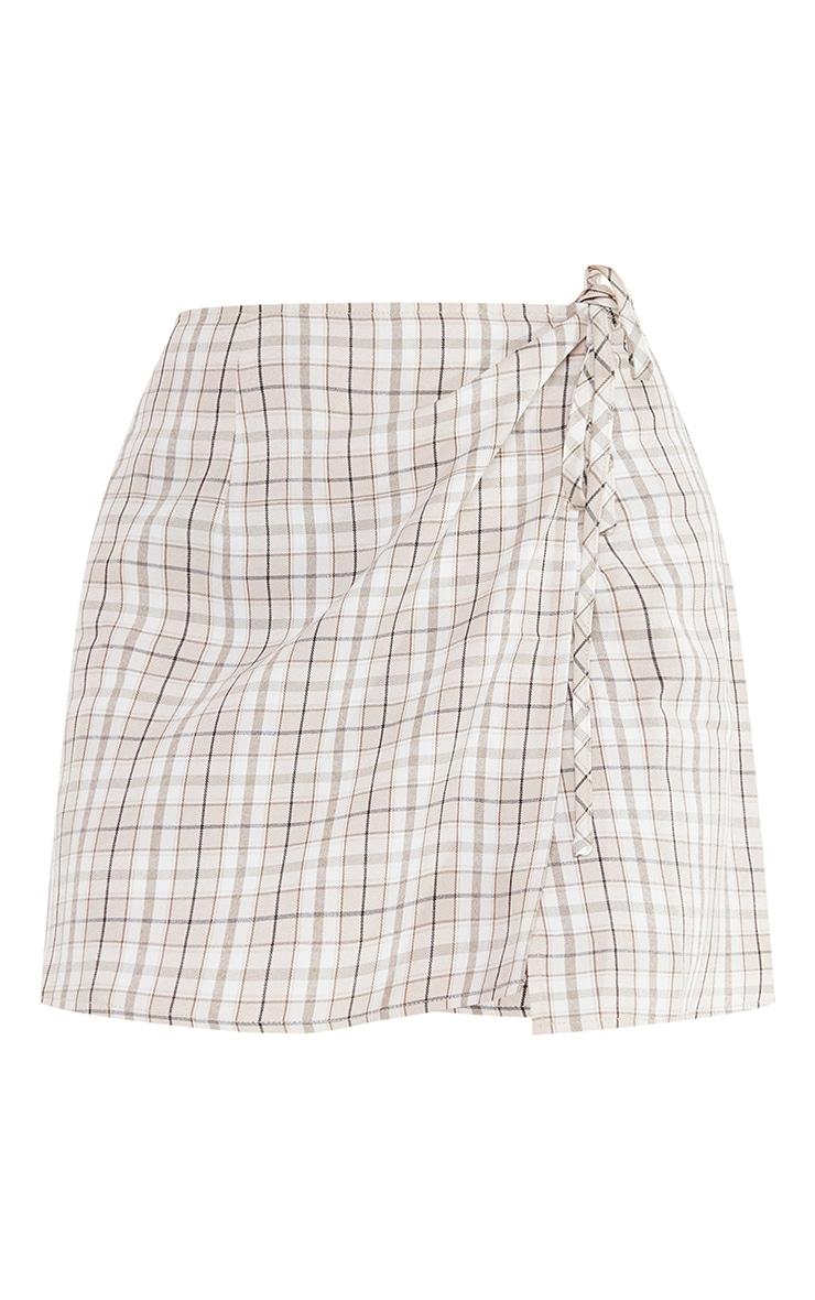Petite Stone Tie Waist Skirt 6