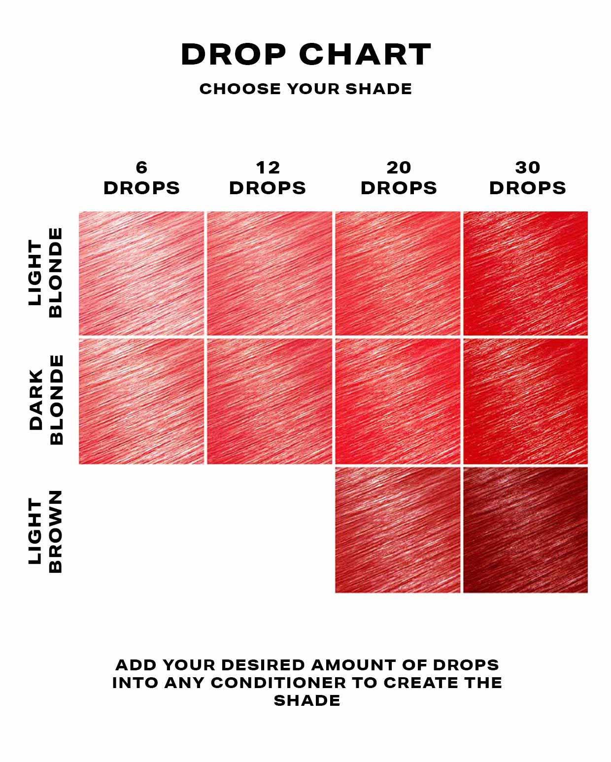 SHRINE Drop It Hair Dye Red 2