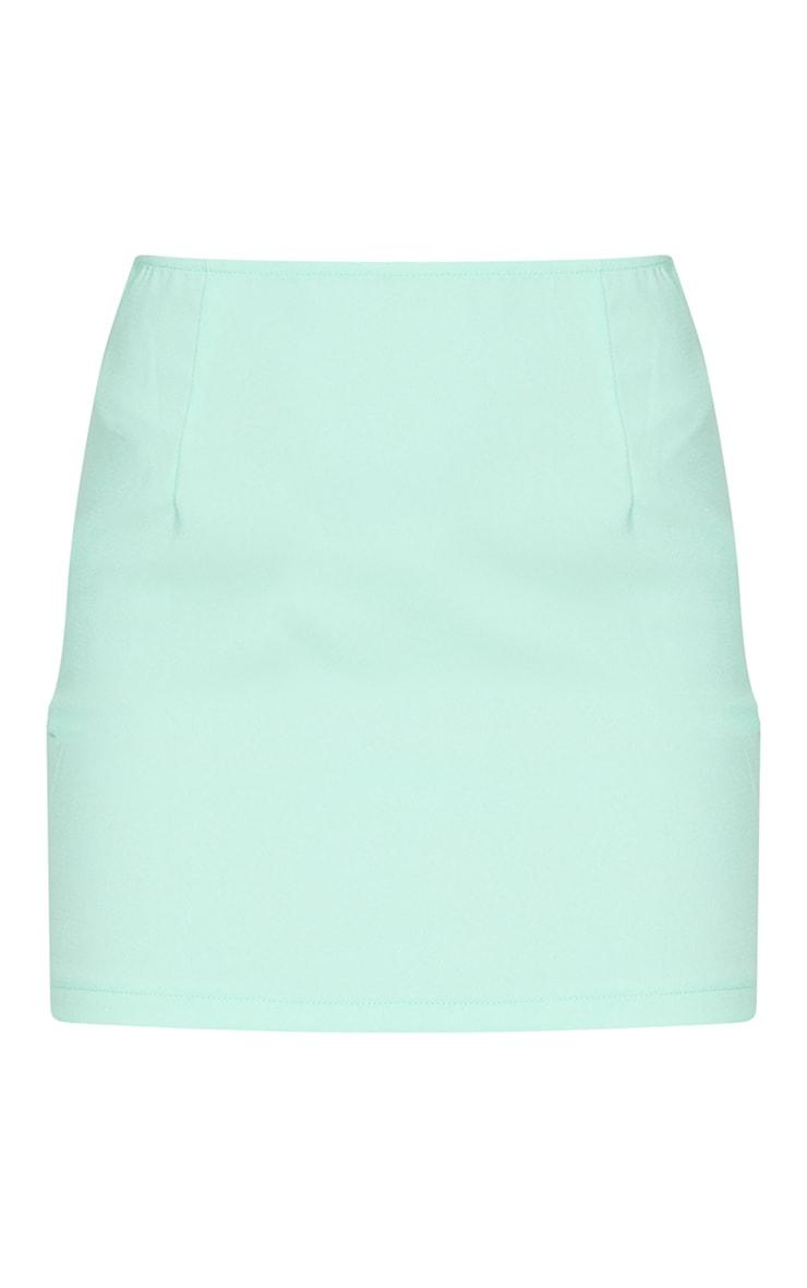 Mint Woven Mini Skirt 6