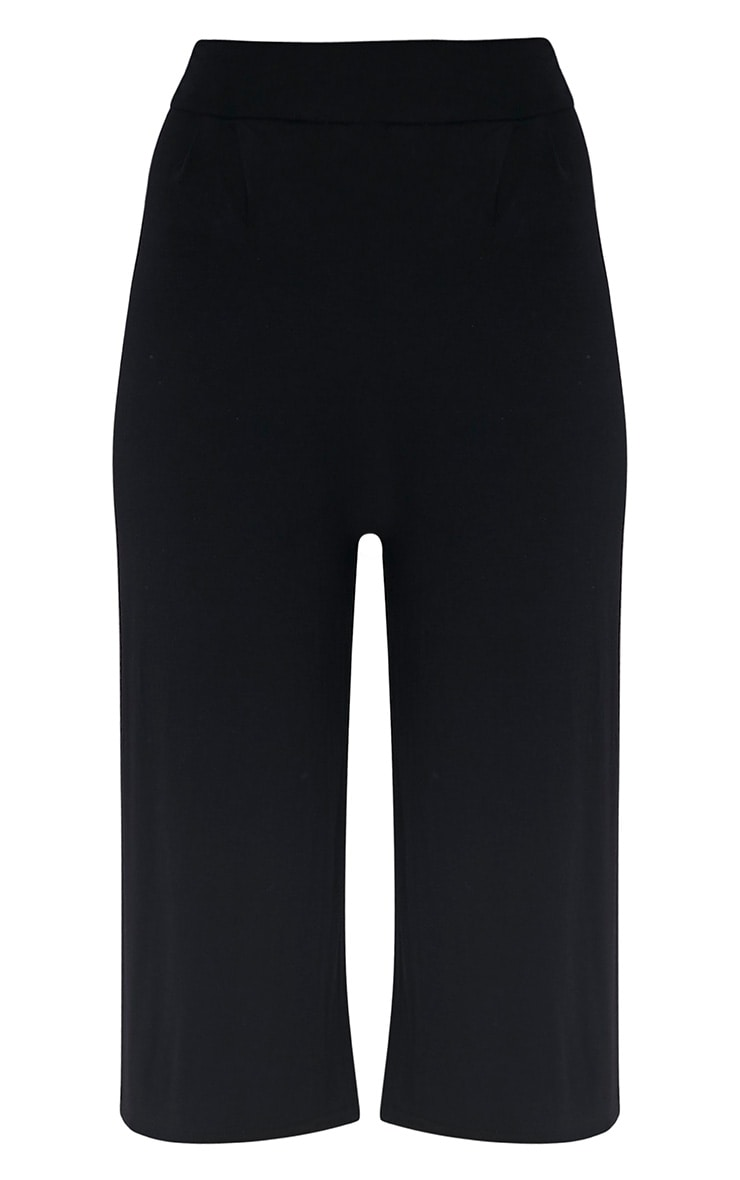 Basic jupe culotte noire 3