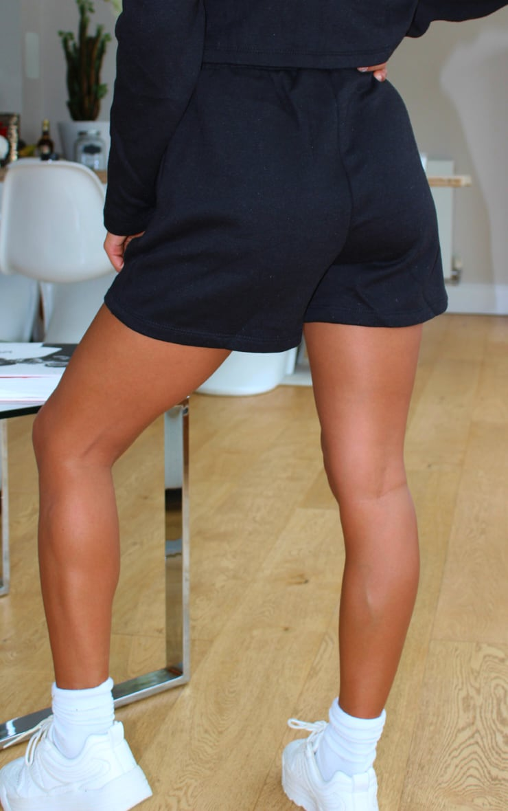 Petite Black Sweat Shorts 3