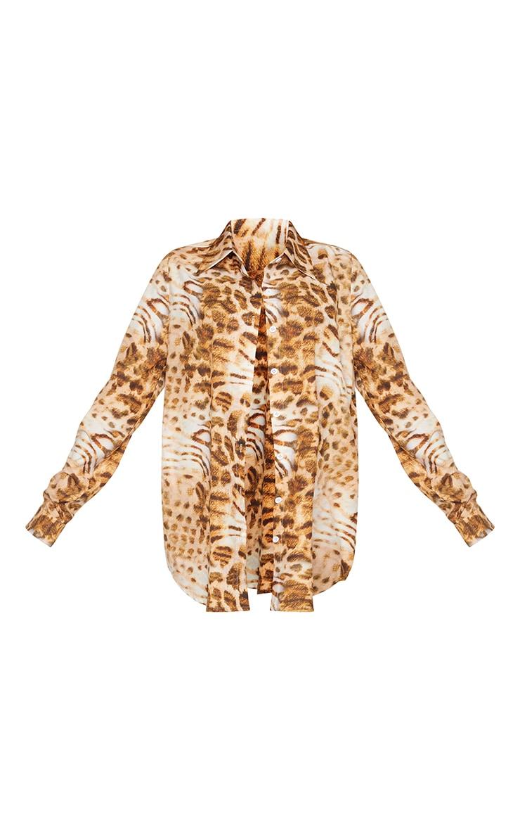 Leopard Print Beach Shirt 5