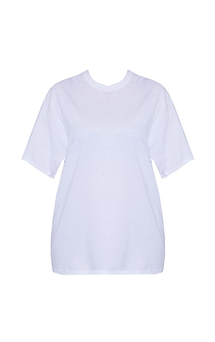 Plus Ultimate White Oversized T Shirt 5