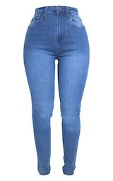 Shape Light Wash High Waist Skinny Jean 3