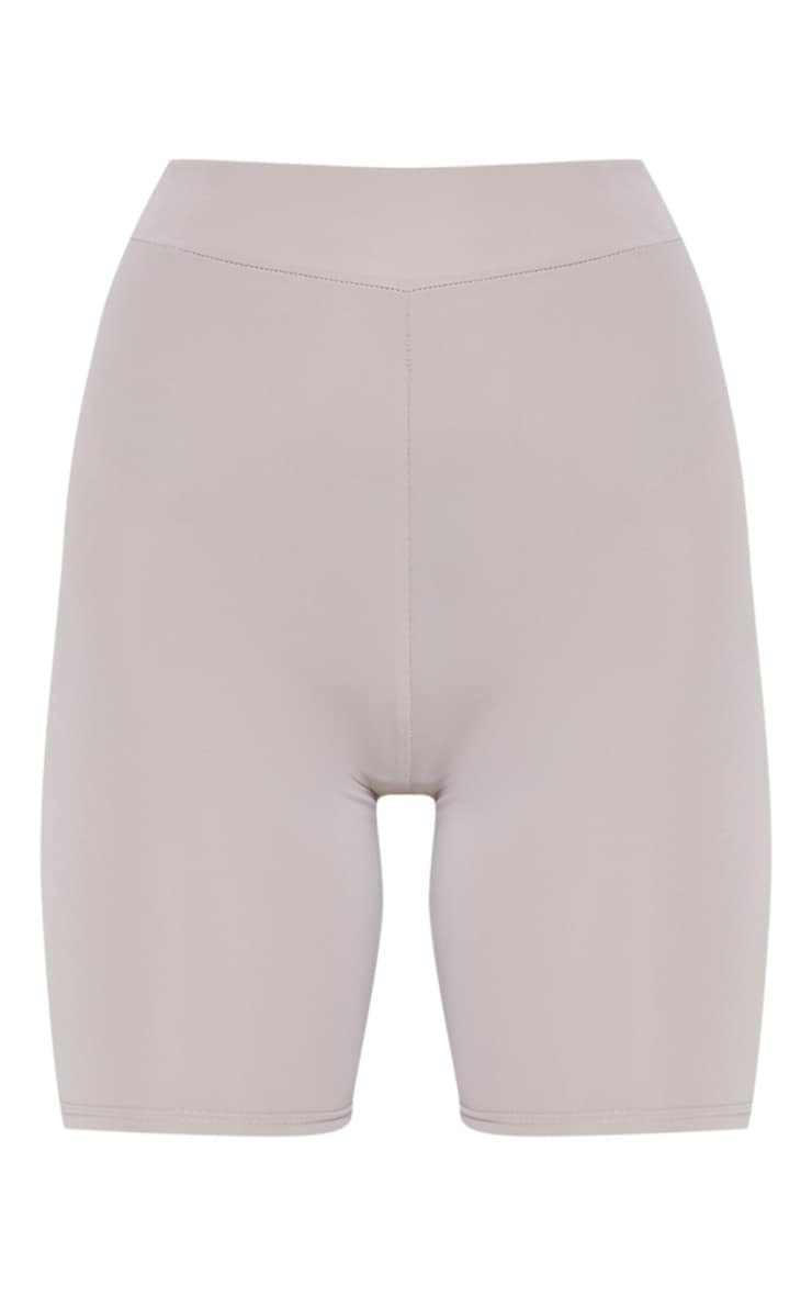 Grey Basic Gym Cycle Short 3