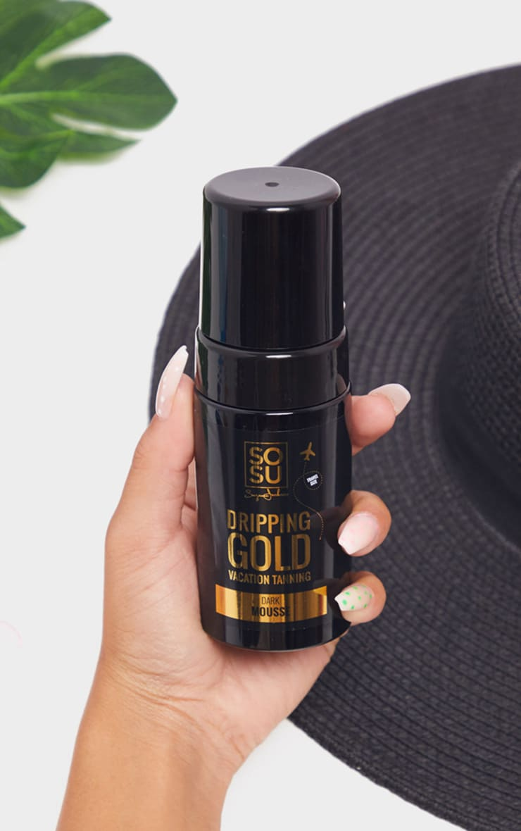 SOSUBYSJ Dripping Gold Travel Size Mousse Dark 1