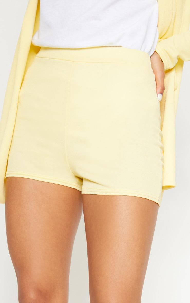 Lemon Striped Suit Short 6