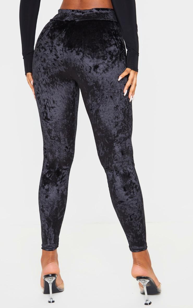 Black Velvet Legging 4