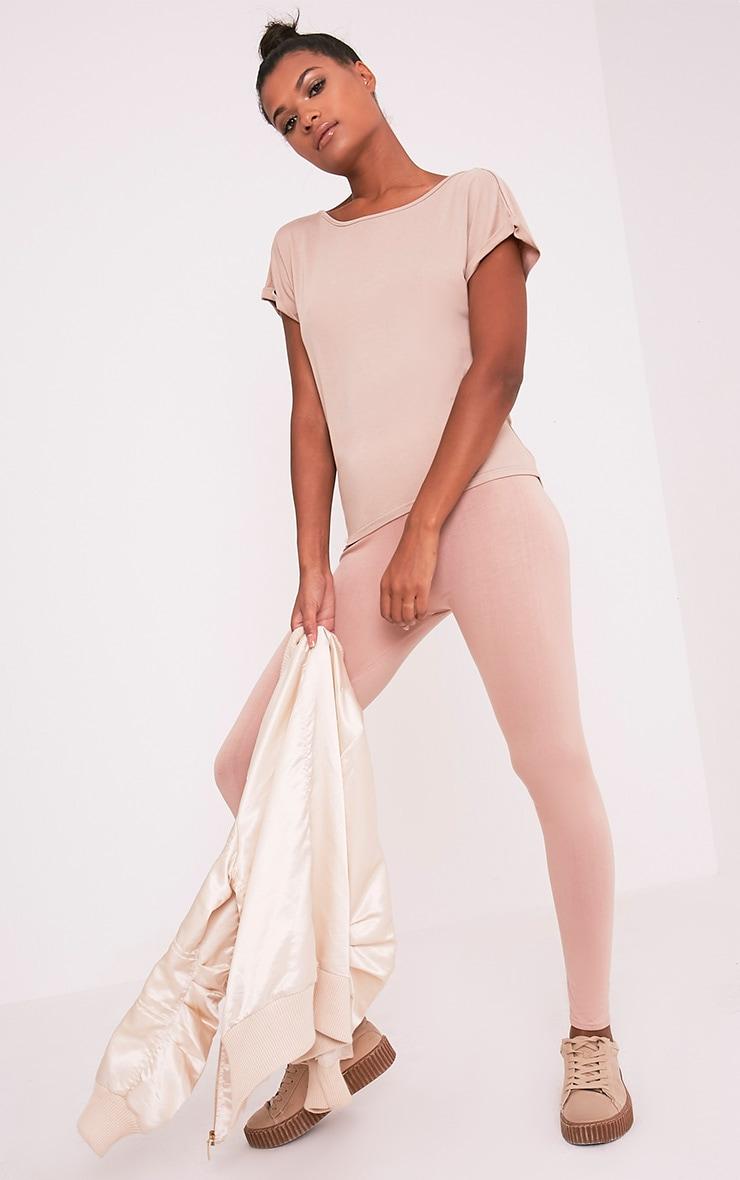 Bea Stone Multi Way Cowl Neck T Shirt 2